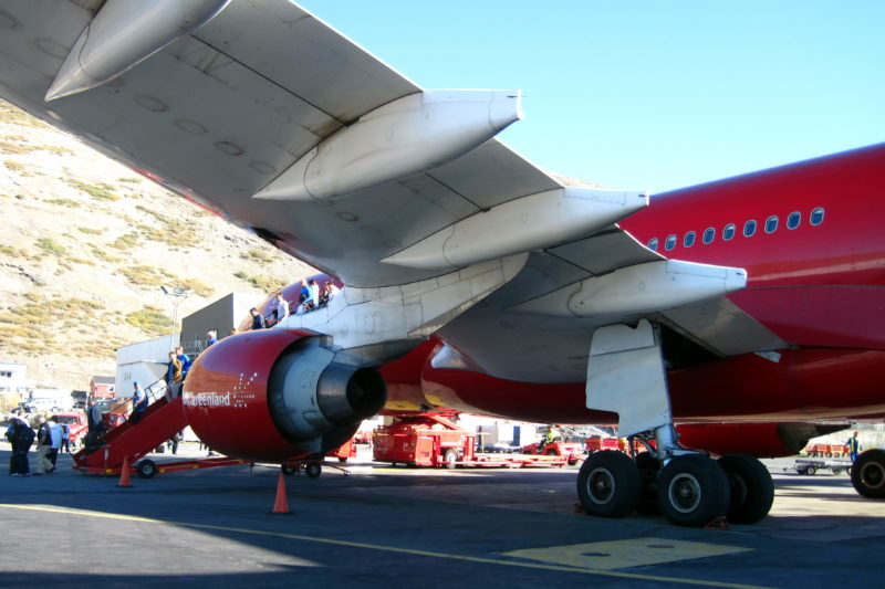 On the way from Kangerlussuaq to Nuuk, Greenland