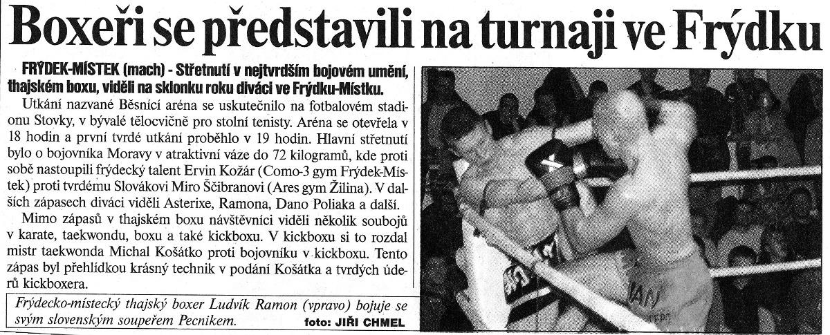 Boxers in Frýdek-Místek (Czech Republic)