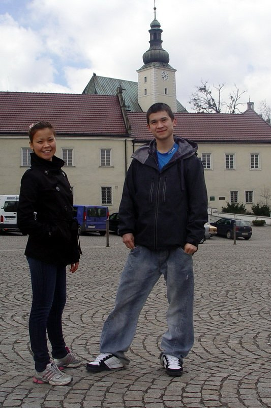 Heidi and Steen in Frýdek-Místek, Czechia