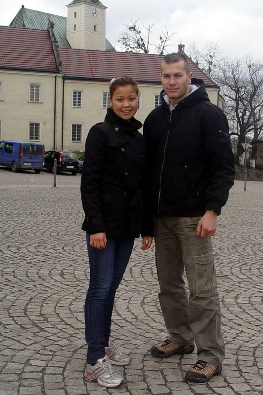 Heidi and Michal in Frýdek-Místek, Czechia