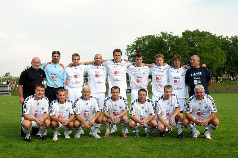 Kubina charity footbal team