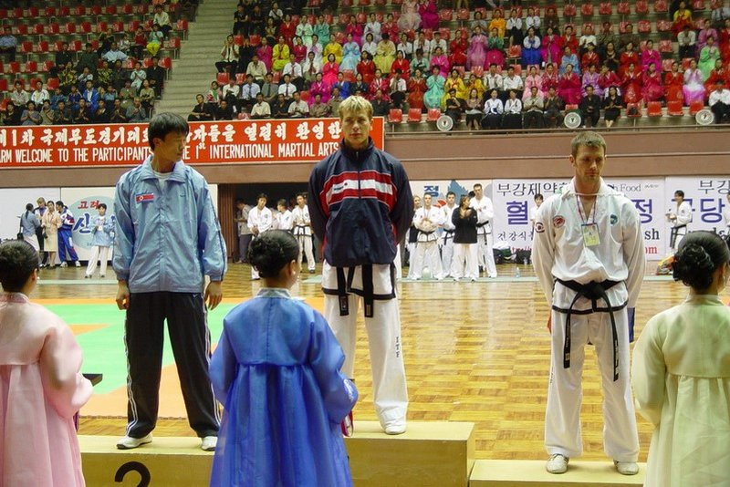 Only one non-Korean gold medal won by Michal Košátko (International Martial Arts Games 2004, DPRK)