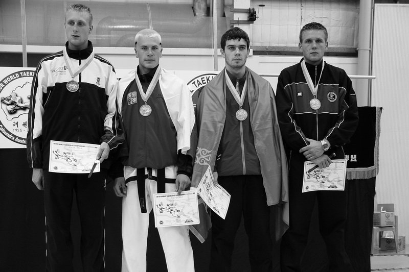 World Champion in sparring -78 kg (World Championship 2005, Australia)