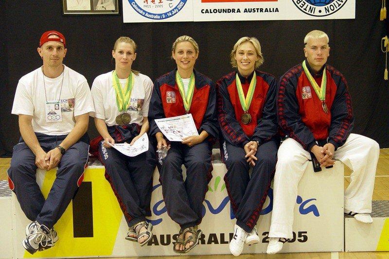 Frýdek-Místek Taekwon-do School squad (World Championship 2005, Australia)
