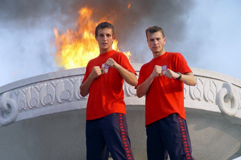 With Jan Mraček (International Martial Arts Games 2006, DPRK)