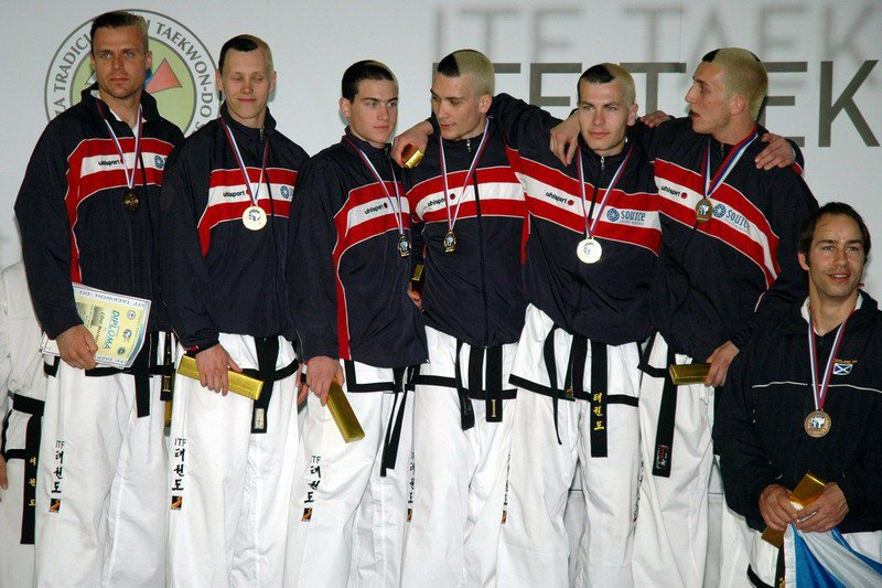 Awarding for team patterns (World Championship 2007, Slovenia, April 2007)