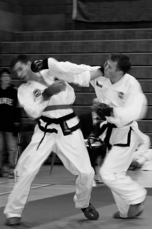 Sparring (Prof. Chang Ung Cup 2007, Scotland)