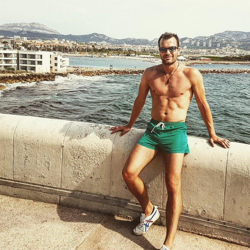 Michal Košátko in Marseille, France