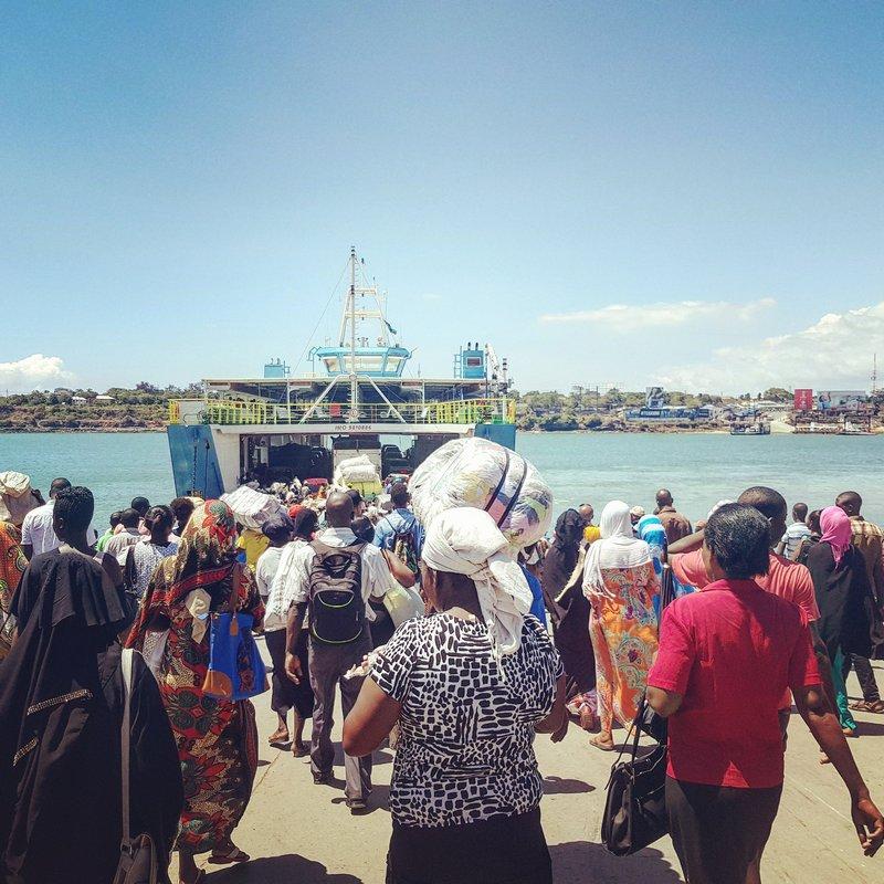 Z Mombasy na Diani Beach, Kenya