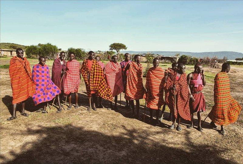 Kmen Masai Mara