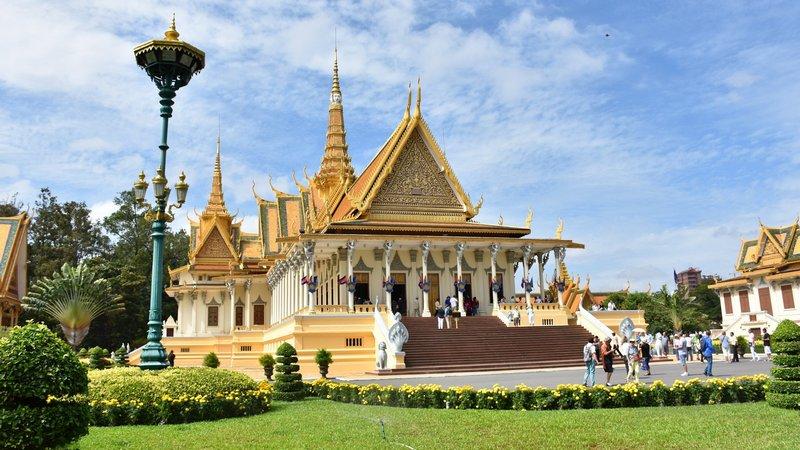 Palace in Phnom Penh, Cambodia