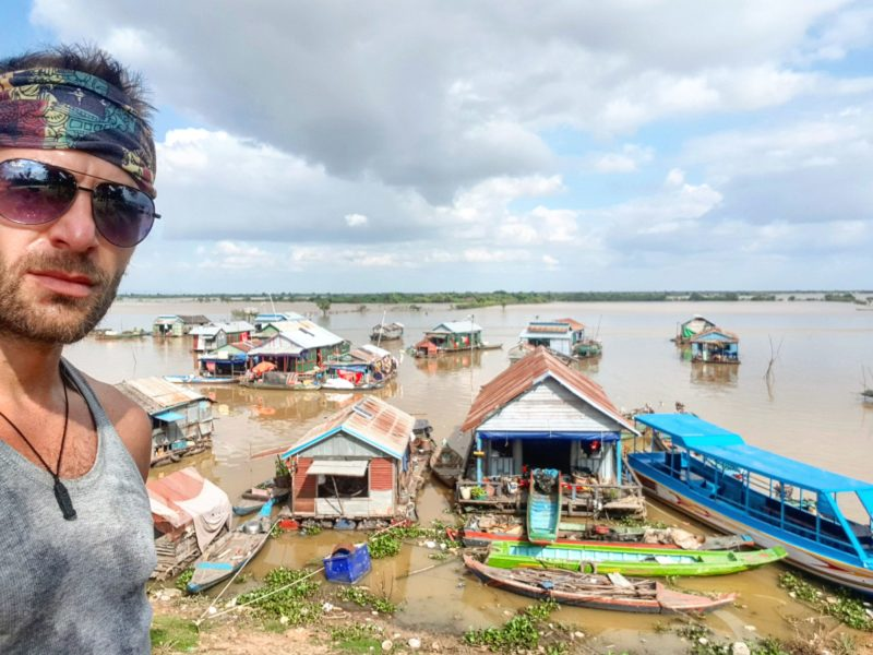 Floating village near Siem Reap, Cambodia