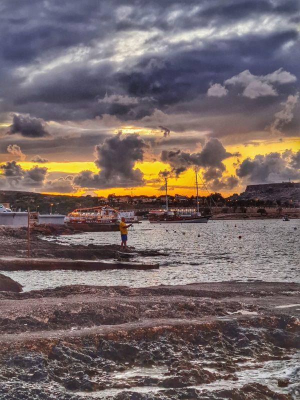 Ghadira Bay, Mellieha, Malta