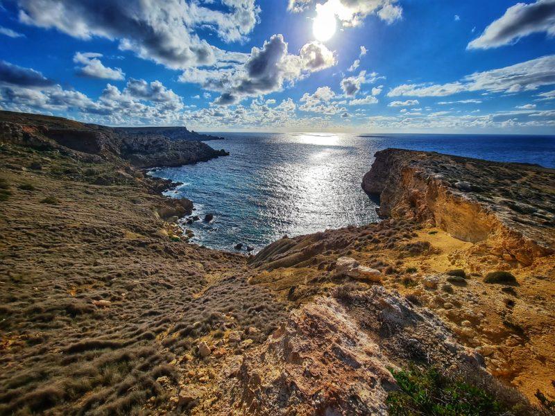 The cliffs, Malta