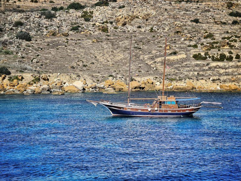 Between Malta and Gozo Islands, Malta