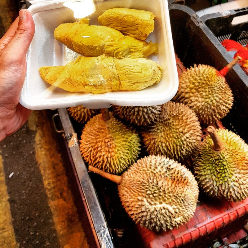 Durian, king of the fruits