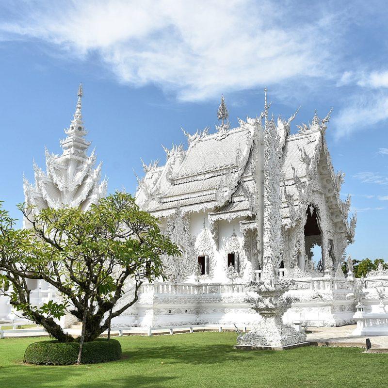 White Temple, Chiang Rai, Bangkok