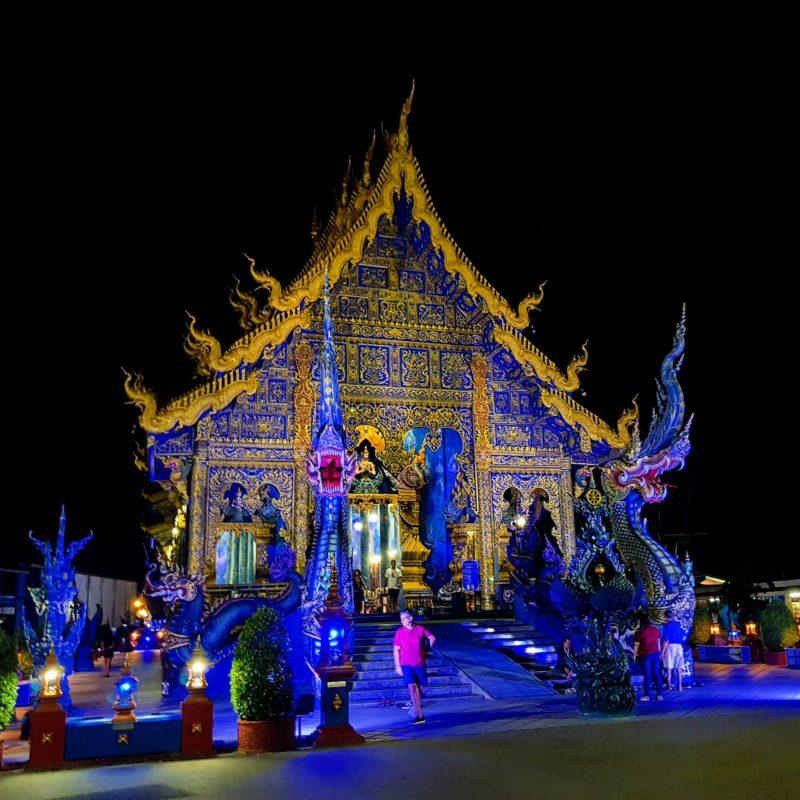 Blue Temple, Chiang Rai, Bangkok